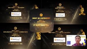 Bukit Asam Raih Lima Penghargaan dalam IAGI Explorations Awards 2020
