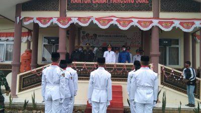 Camat Pancung Soal Yusri Afnidal, S.Sos., Pimpin Upacara Peringatan HUT RI ke-76