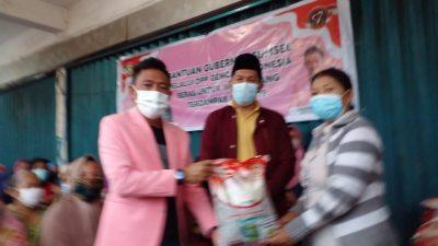 DPP Gencar Indonesia Salurkan Beras Bangub ke 105 KK di 7 Ulu