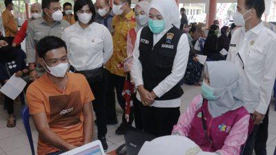 Akhir tahun, Wong Palembang 100 % Vaksinasi