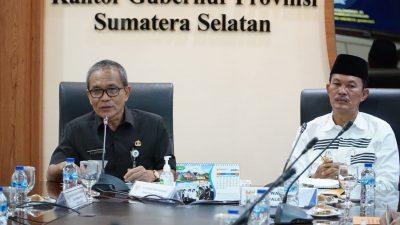 Giliran Kota Palembang Usulkan Program/Kegiatan Prioritas ke Gubernur Sumsel